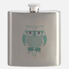 Winter Snow Owl.png Flask