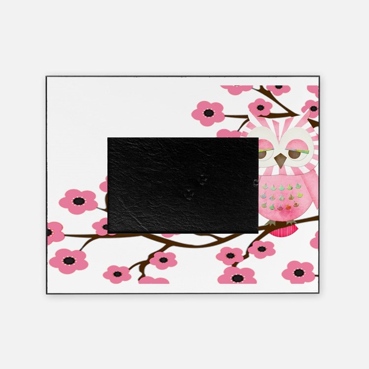 Cherry Blossom Owl copy.png Picture Frame