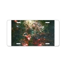 NASA Picture Tarantula Nebula Aluminum License Pla
