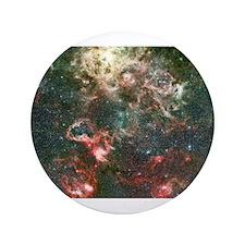 "NASA Picture Tarantula Nebula 3.5"" Button"