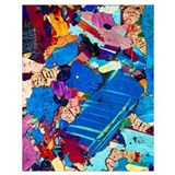 Thin section Wrapped Canvas Art