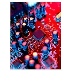 Circuit board Canvas Art