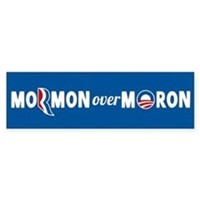 Mormon Over Moron Stickers