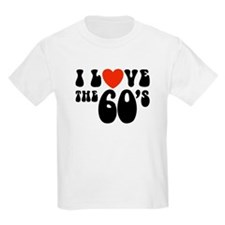 I Love the 60's Kids T-Shirt