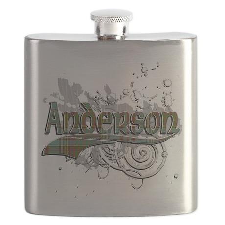 Anderson Tartan Grunge Flask