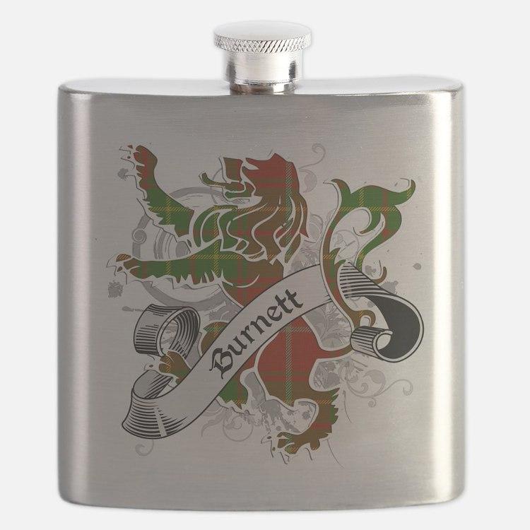 Burnett Tartan Lion Flask