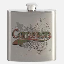 Cameron Tartan Grunge Flask
