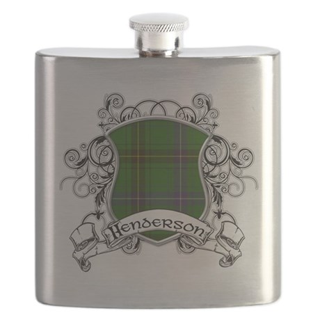 Henderson Tartan Shield Flask