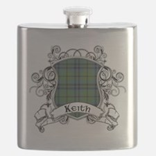 Keith Tartan Shield Flask