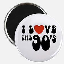 I Love the 90's Magnet