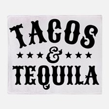Tacos & Tequila Throw Blanket