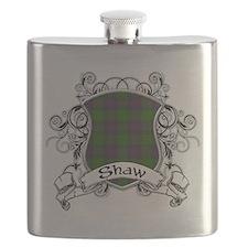 Shaw Tartan Shield Flask