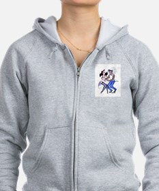 Rebel Beat Dancers Zip Hoody