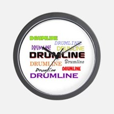 Colorful Drumline Marching Band Wall Clock