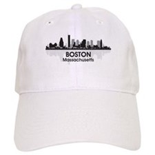Boston Skyline Baseball Cap