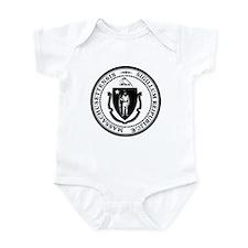 Vintage Massachusetts Seal Infant Bodysuit