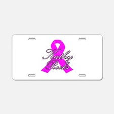 Mrs Kathy to be Aluminum License Plate