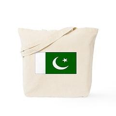 Pakistan Pakistani Blank Flag Tote Bag