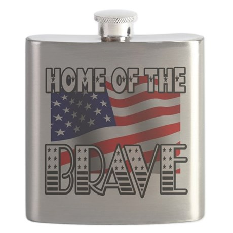 HOME OF THE BRAVE Flask