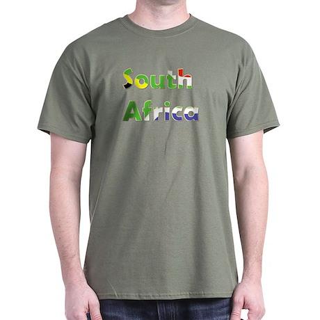 South Africa Goodies Black T-Shirt