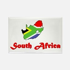 South Africa Goodies Rectangle Magnet