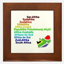 Rainbow Nation Framed Tile