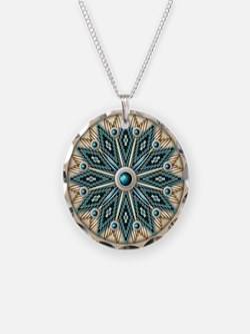 Native American Rosette 08 Necklace