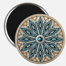 Native American Rosette 08 Magnet