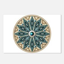 Native American Rosette 08 Postcards (Package of 8