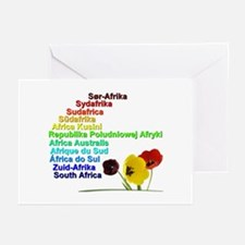 South Africa Goodies Greeting Cards (Pk of 10)