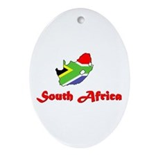 South Africa Goodies Oval Ornament
