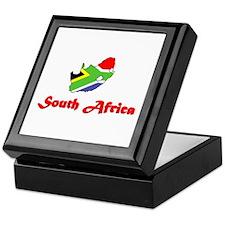 South Africa Goodies Keepsake Box