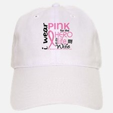 Hero In Life 2 Breast Cancer Baseball Baseball Cap