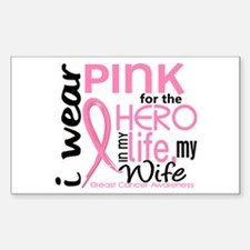 Hero In Life 2 Breast Cancer Decal