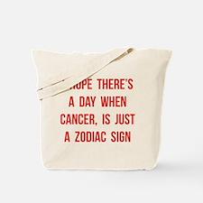 Cancer Hope Tote Bag