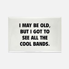 All The Cool Bands Rectangle Magnet (10 pack)
