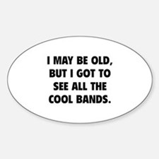 All The Cool Bands Stickers