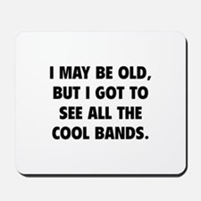 All The Cool Bands Mousepad