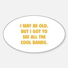 All The Cool Bands Decal