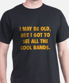 All The Cool Bands T-Shirt
