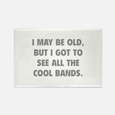 All The Cool Bands Rectangle Magnet
