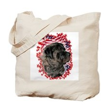 Mastiff Patriotic 6 Tote Bag