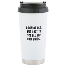 All The Cool Bands Travel Mug