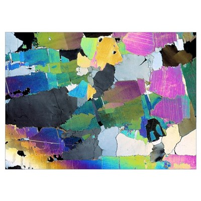 Muscovite, thin section Poster