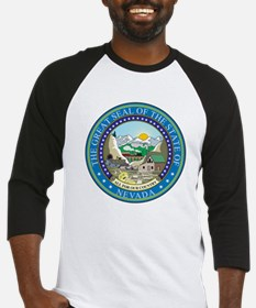 Nevada State Seal Baseball Jersey