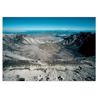 Mount St Helens volcanic crater Canvas Art