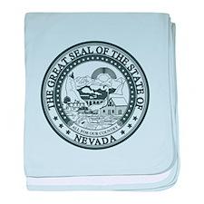 Vintage Nevada Seal baby blanket