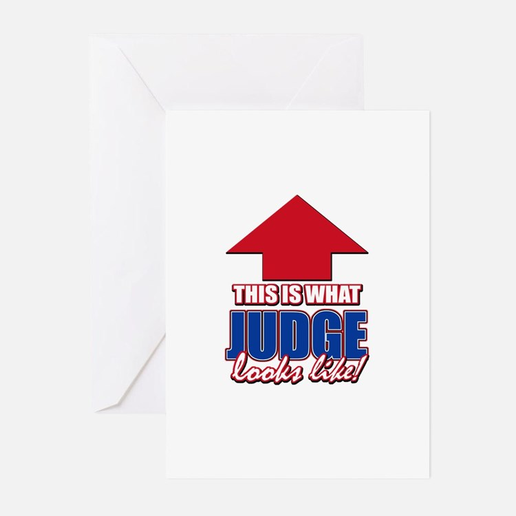 This is what Judge looks like Greeting Cards (Pk o