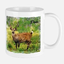 deer in a beautiful setting Mug