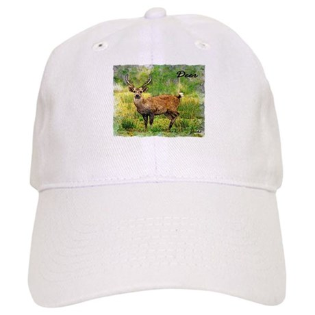 deer in a beautiful setting Cap